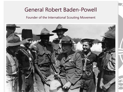 Tribute Page - Lord General Robert Baden-Powell