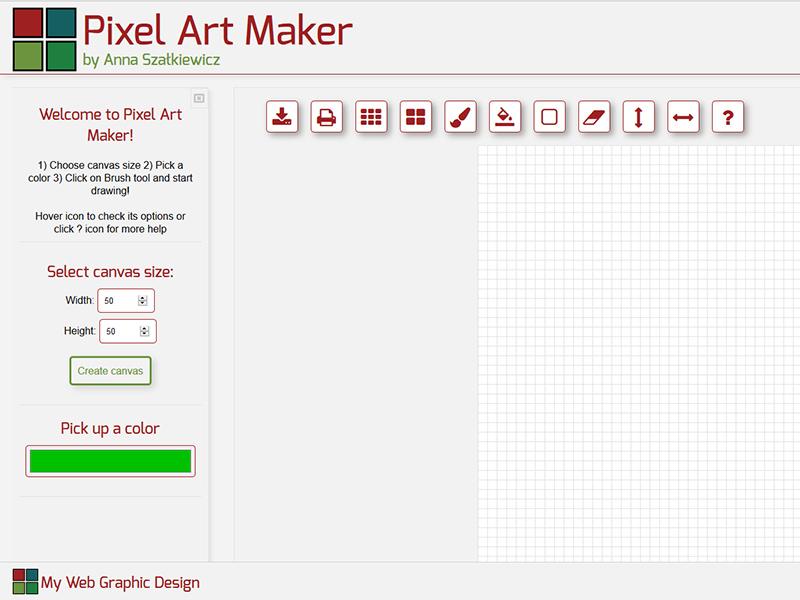 Pixel Art Maker Screenshot
